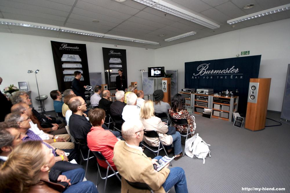 Wizard high end audio blog burmester at highend 2011 for Dieter burmester