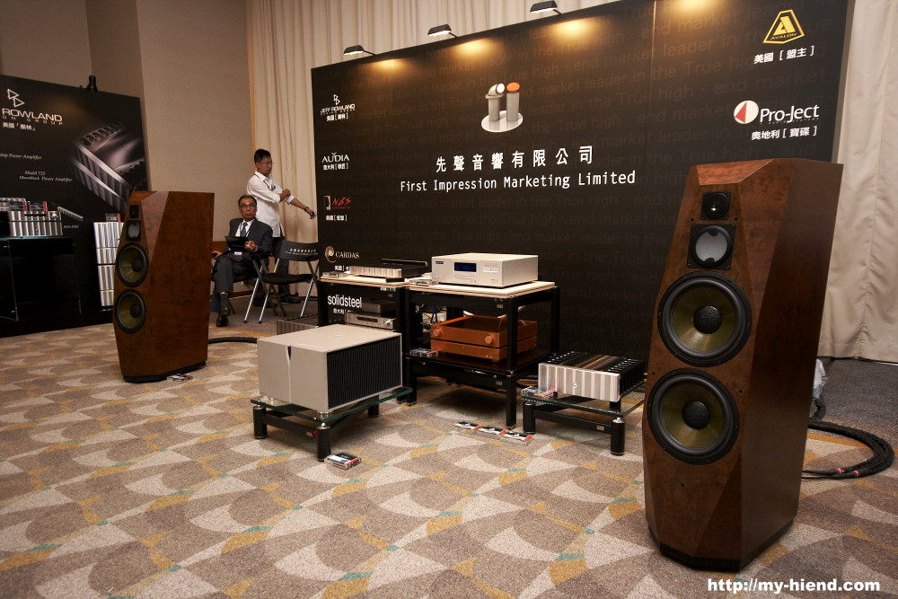Wizard High End Audio Blog Avalon Speakers With Rowland