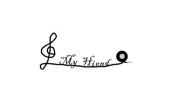 乐的美好,经由高音谱记号,透过My Hiend让听众获得最好的音乐资讯